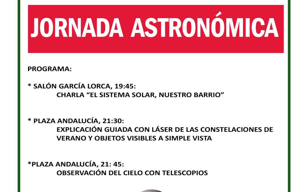 Jornada Astronómica en Castellar de la Frontera el 11 de Septiembre de 2015
