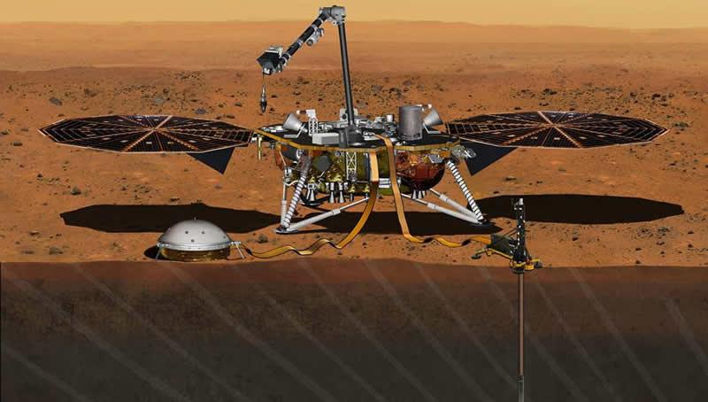 Lanzamiento en directo de la misión Insight de la NASA a Marte