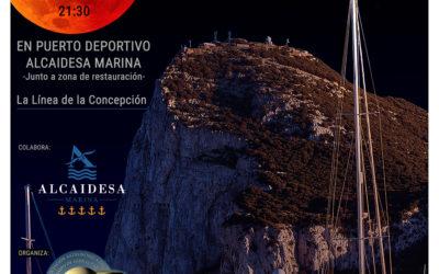 Observa con Luz Cero el eclipse de Luna en el Puerto Deportivo Alcaidesa Marina