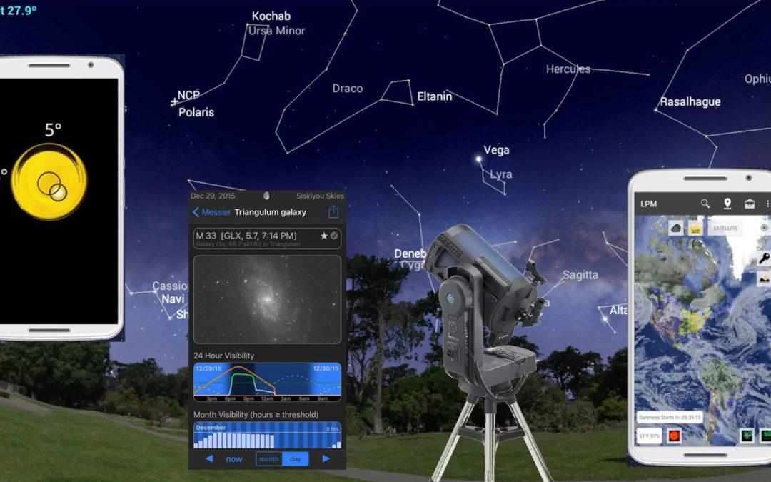Turn Your Smartphone into an Astronomy Toolbox with Mobile Apps. Convierte tu Smartphone en una herramienta astr onómica con estas aplicaciones
