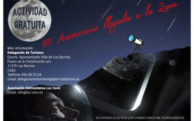 Observación planetaria y lunar desde centro histórico de Los Barrios