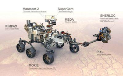 Ciencia española en rover Perseverance